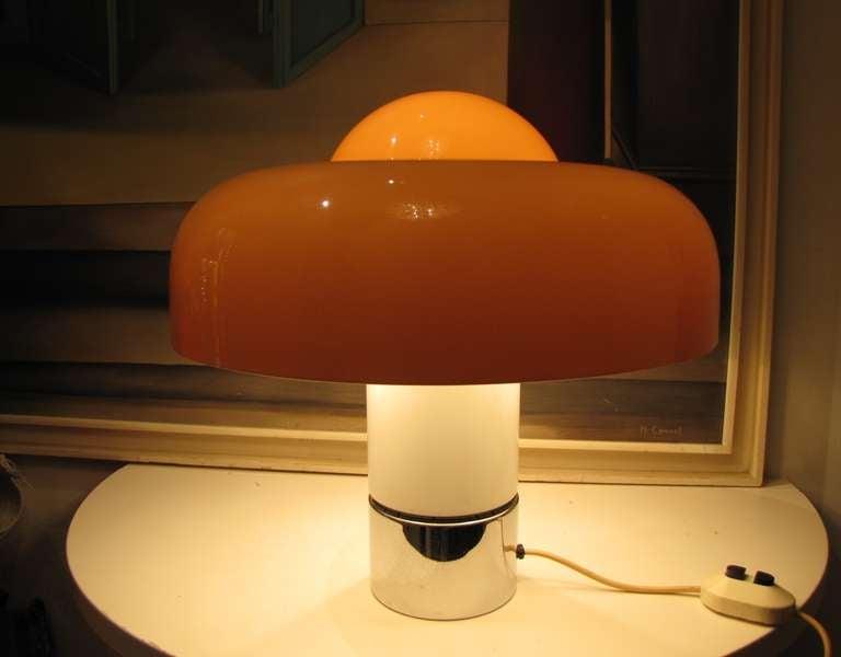 Large Quot Brumbury Quot Table Lamp By Luigi Massoni For Guzzini