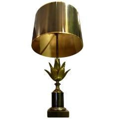 """Lotus"" lamp by Maison Charles Paris"