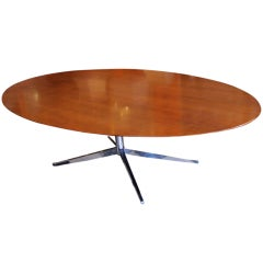 1960 Florence Knoll Oval Table