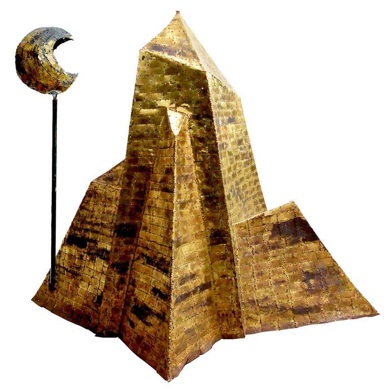 Heptagone Sculpture by François Melin