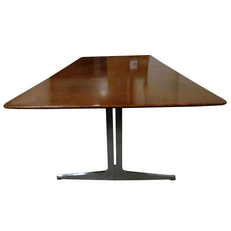 Exceptional Large Dining Table or Desk by Knoll International