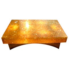 Resin Coffee Table By Pierre Giraudon