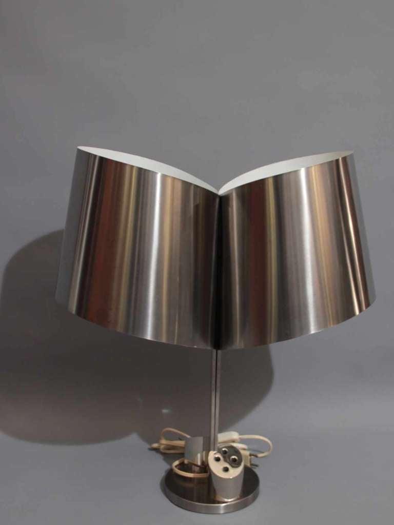 1970's desk lamp by Henri Mathieu In Excellent Condition For Sale In Paris, FR