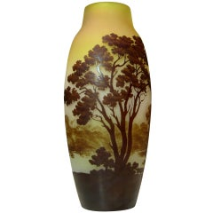 Large Vase by Emile Gallé ca. 1900