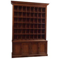 Courier Cabinet from Hotel Reception, Late 19th Century
