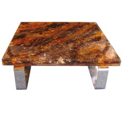 Luxurious Coffee Table by Gilles Charbin, France