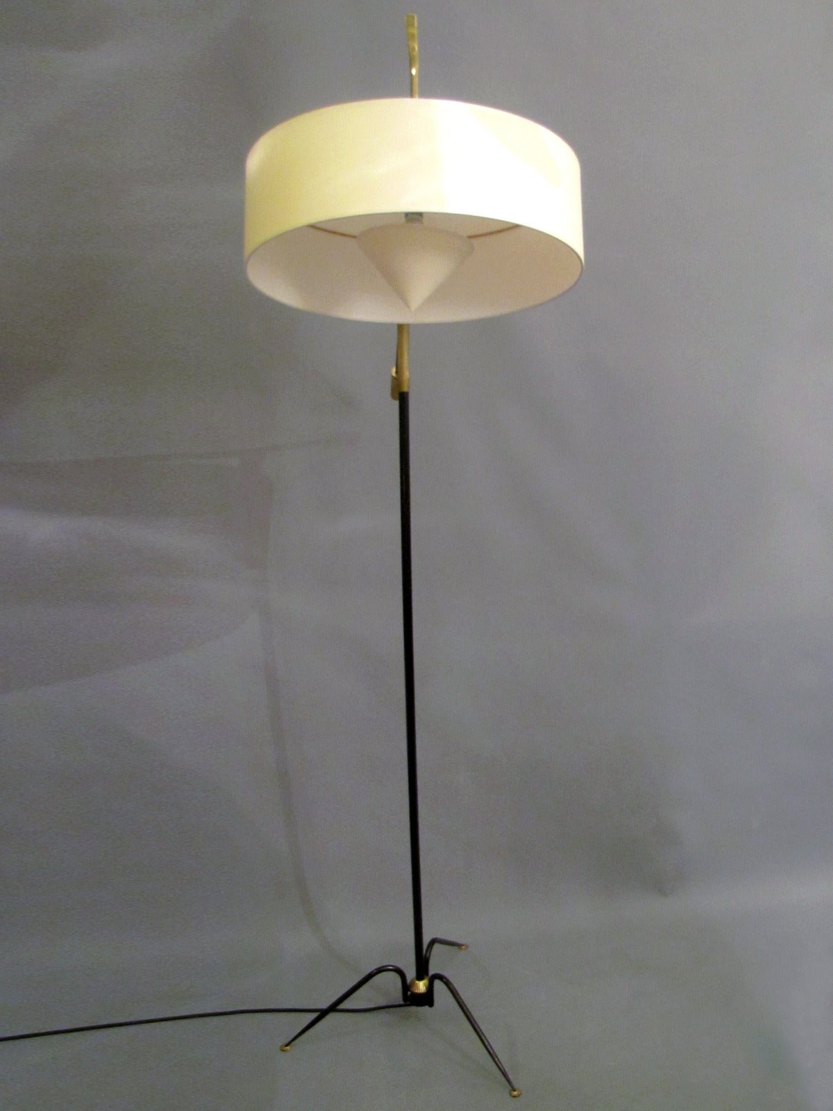 1950s adjustable floor lamp by arlus at 1stdibs for 1950 floor lamp