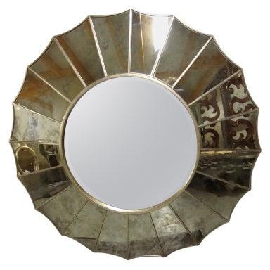 Large miroir aux alouettes at 1stdibs for Miroir aux alouettes