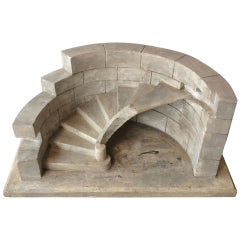 Staircase Model in Plaster