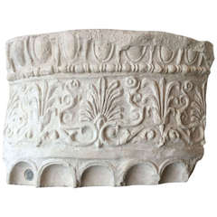 Part of Tuscan Capital in Plaster