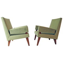 Maxime Old Pair of Armchairs Model 369, France 1955-1958