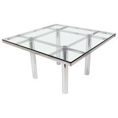 """Original """"André"""" table, designed by Tobia Scarpa for Gavina"""