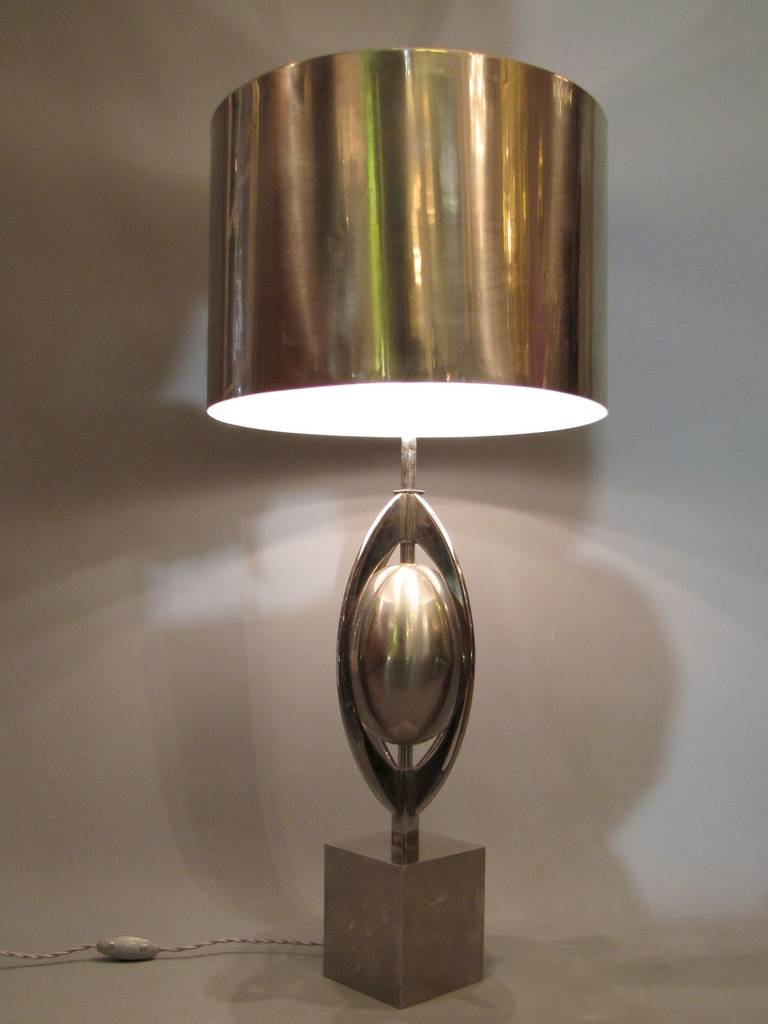 1960s Table Lamp Model Ogive By Maison Charles At 1stdibs