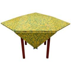 """1980's """"Memphis"""" drop leaf table"""