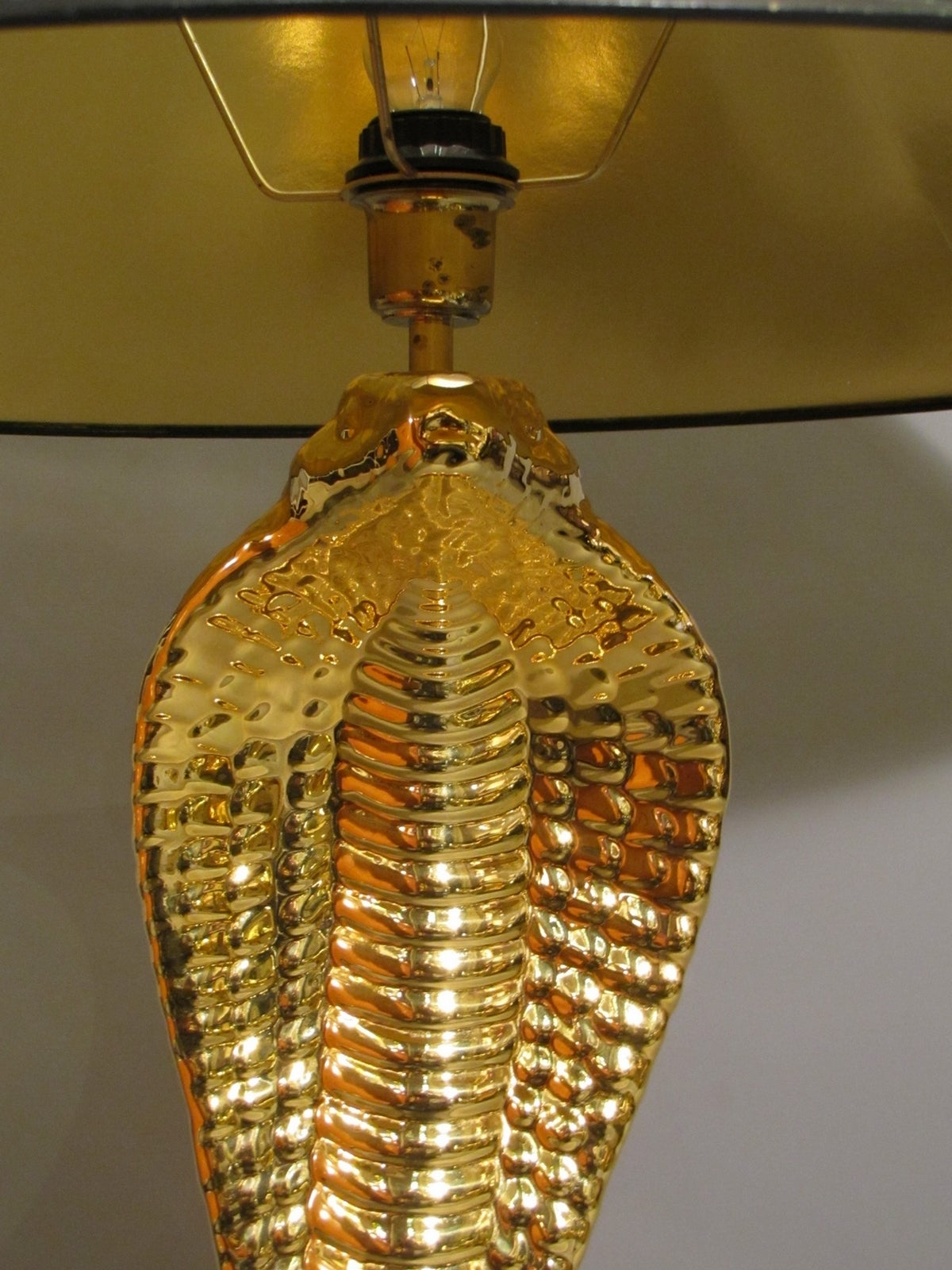 Late 20th Century 1970s Cobra Lamp by Tommaso Barbi For Sale