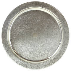 Tiffany & Co. Sterling Tray in the Moorish Taste
