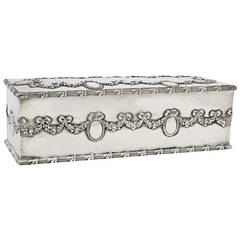 Theo B. Starr Antique Sterling Box