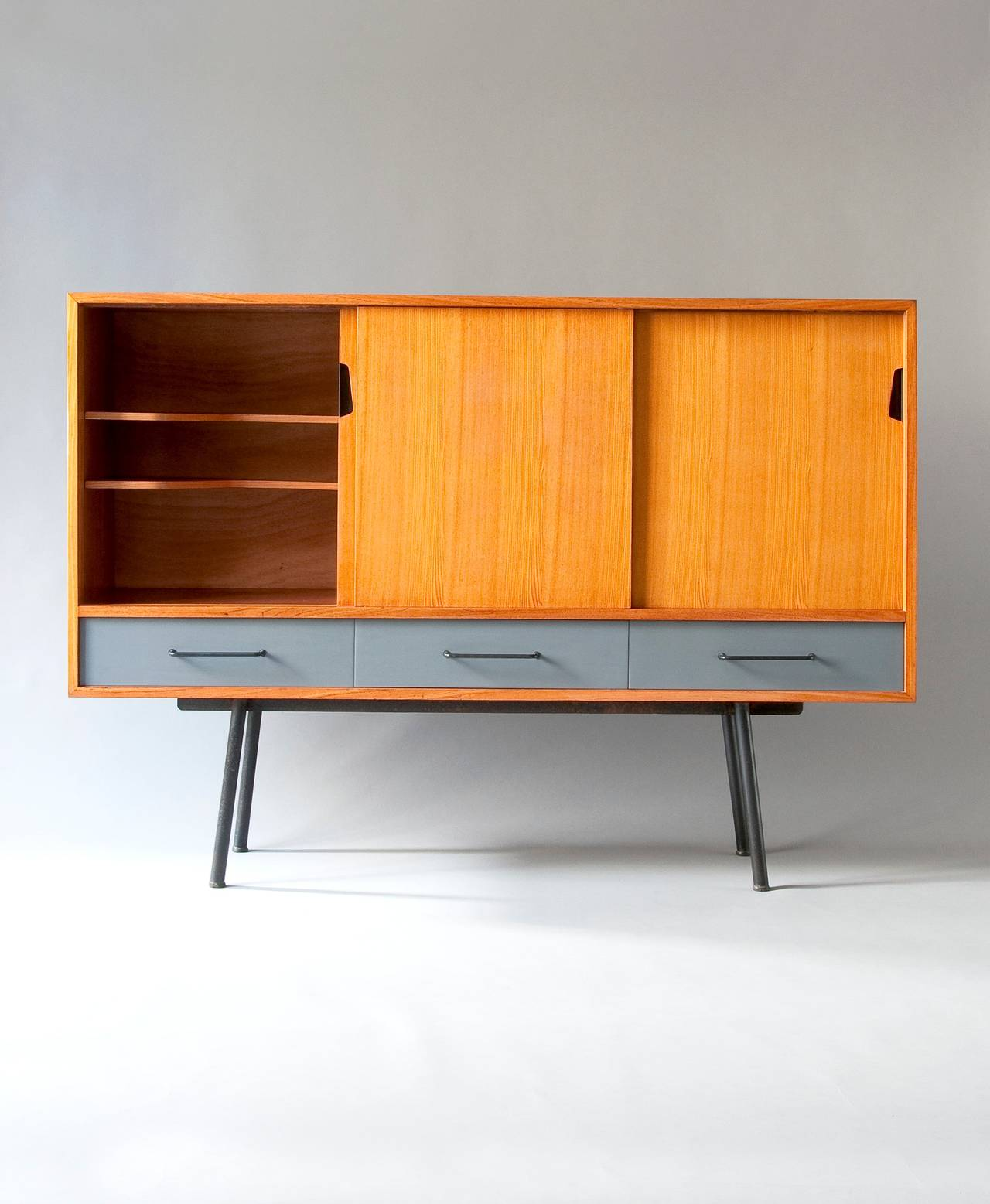 sideboard buffet 102 by janine abraham meubles tv edition 1952 for sale at 1stdibs. Black Bedroom Furniture Sets. Home Design Ideas