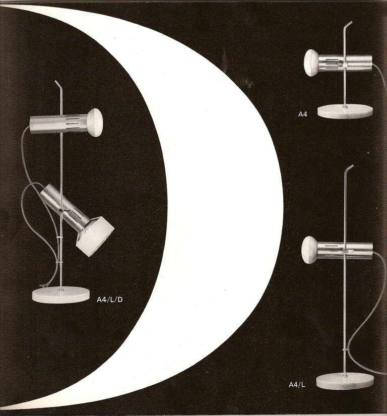 Lamp A4L - Alain Richard - Pierre Disderot Edition - 1958 10