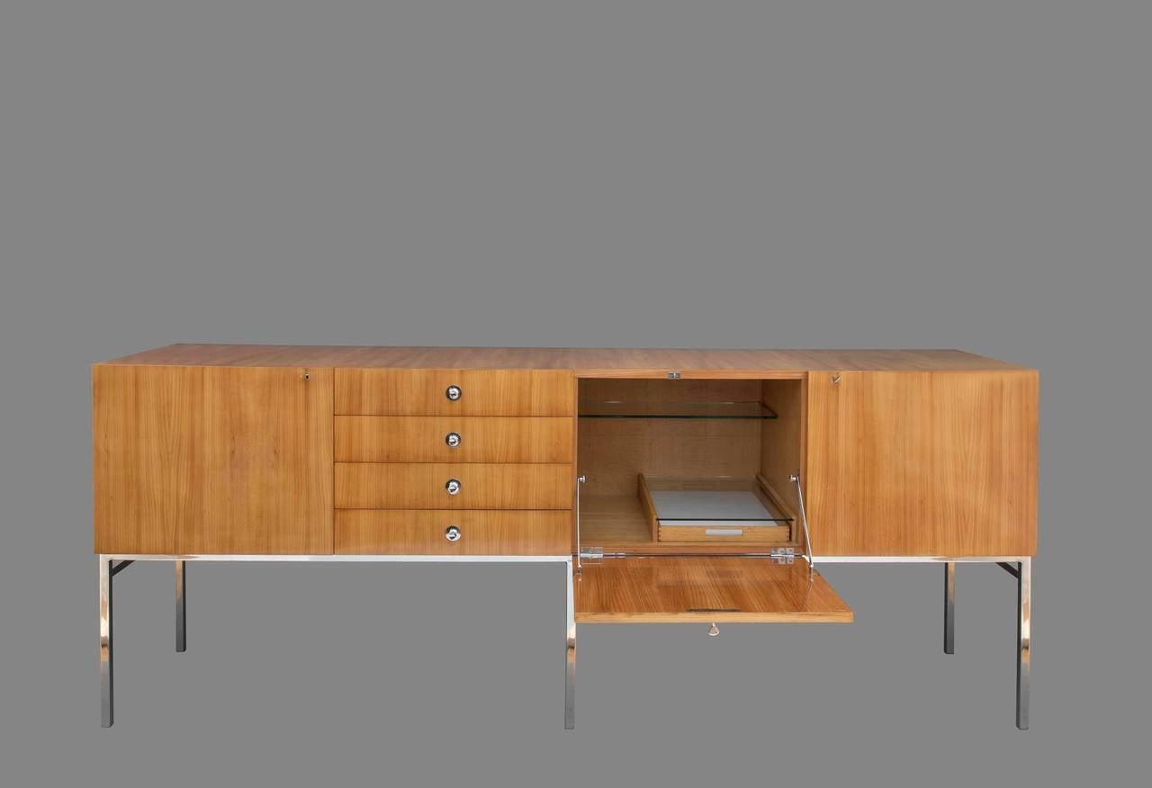 sideboard model 802 by alain richard, meubles tv edition, 1957 ... - Meubles Tele Design 2