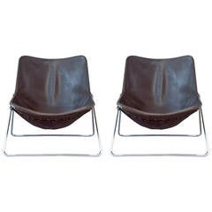 Pair of chairs G1 by Pierre Guariche - Airborne edition - 1953