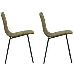 Pair of chairs Papyrus by Pierre Guariche - Steiner edition - 1951