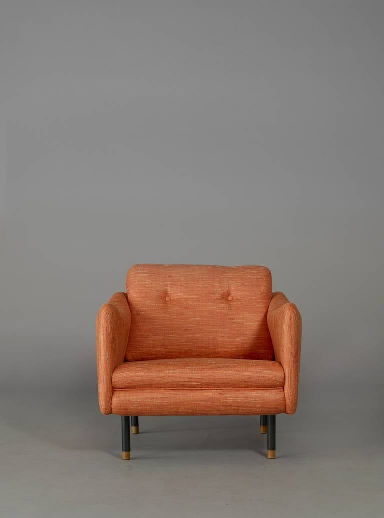 pair of armchairs teckel by michel mortier steiner. Black Bedroom Furniture Sets. Home Design Ideas