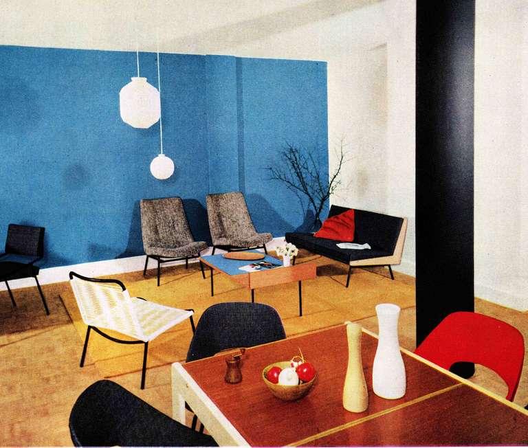 Sofa 195 by alain richard and andr monpoix meubles tv for Meubles richard