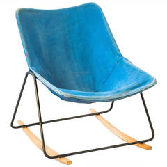 Rocking chair G1 by Pierre Guariche - Airborne edition - 1953