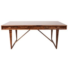 Newly Produced Mid-Century Modern Style Executive Desk
