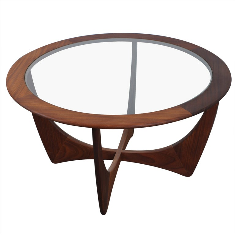 Mid Century Danish Modern Coffee Table By Ib Kofod Larsen