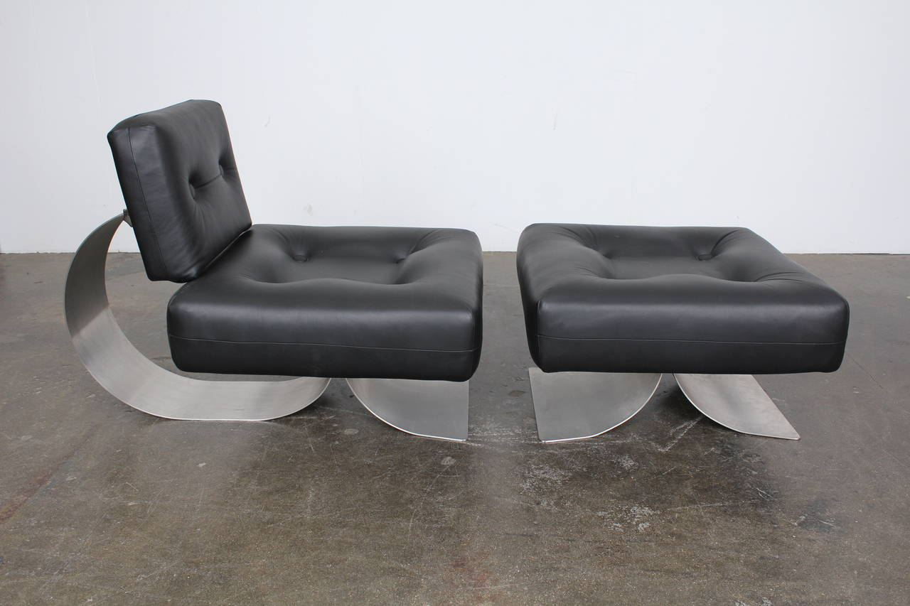 re issue prototype of the oscar niemeyer alta chair for. Black Bedroom Furniture Sets. Home Design Ideas