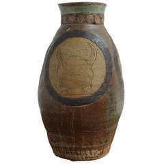 Mid-Century Modern Ceramic Vase