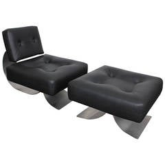 """Re-Issue Prototype of the Oscar Niemeyer """"Alta Chair"""""""