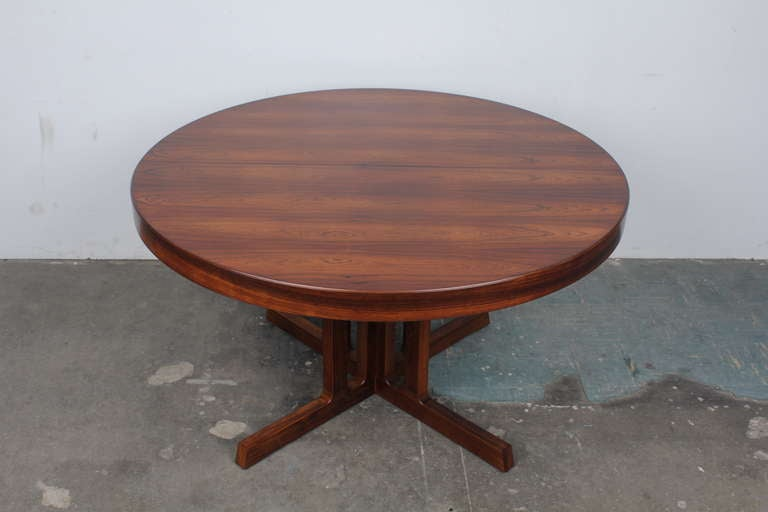 Dining table kai kristiansen rosewood dining table for Chinese furniture christchurch