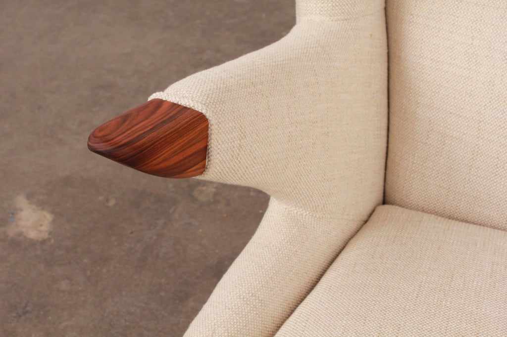 Newly Made Reproduction Of Danish Lounge Chair By Svend