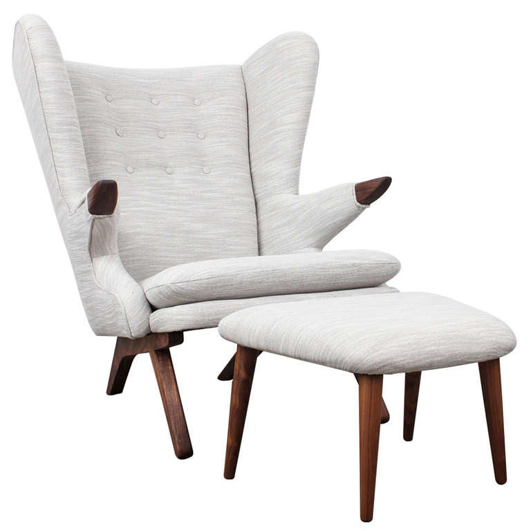 Svend Skipper Danish Mid Century Modern Reprodution Lounge Chair At 1stdibs