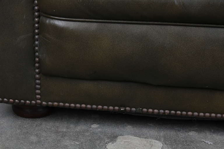Vintage English Chesterfield Sofa image 5