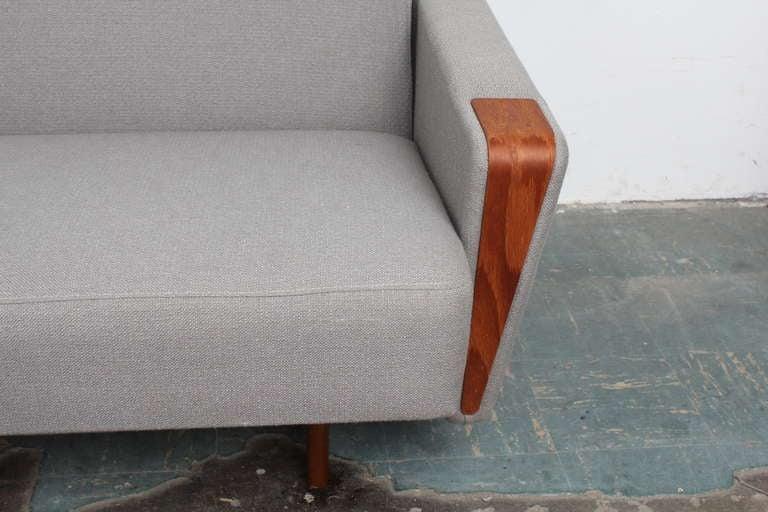 Danish Mid Century Modern Tight Back Sleeper Sofa At 1stdibs