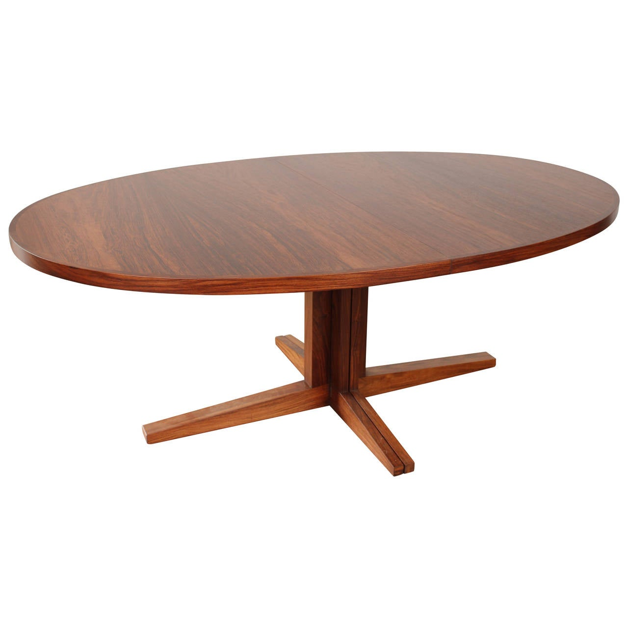 Oval Rosewood Mid Century Dining Table by John Mortensen  : 2950412l from 1stdibs.com size 1280 x 1280 jpeg 57kB