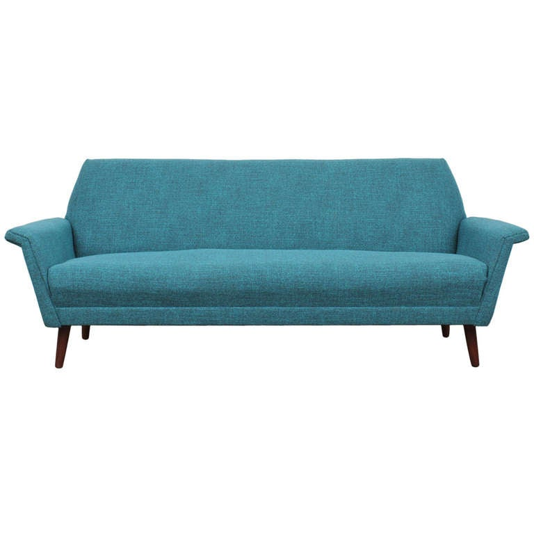 danish mid century modern sofa at 1stdibs