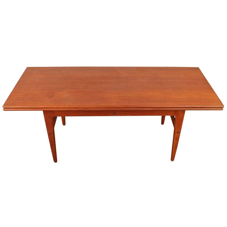 danish mid century modern transforming coffee table at 1stdibs