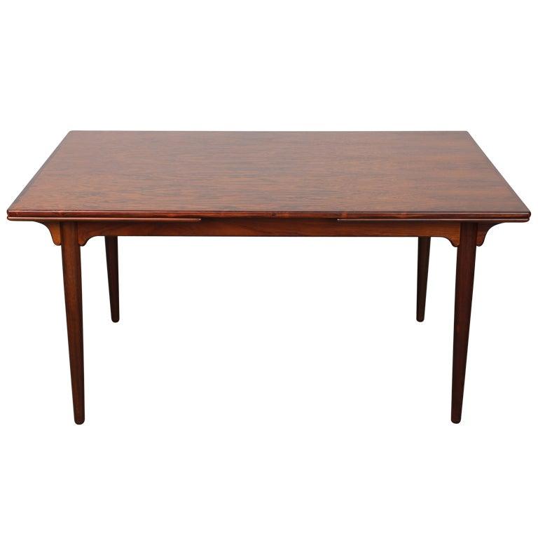 Gunni Omann Mid Century Danish Modern Rosewood Dining Table : XXXtbldin7641 from 1stdibs.com size 768 x 768 jpeg 26kB