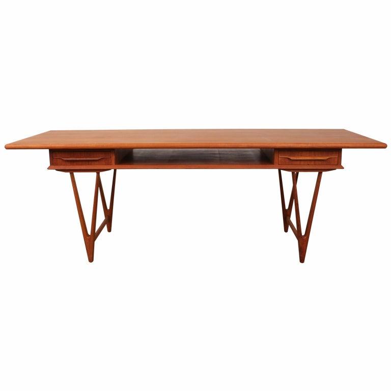 Danish Mid Century Teak Coffee Table 1 Small: Danish Mid Century Modern Teak Coffee Table At 1stdibs