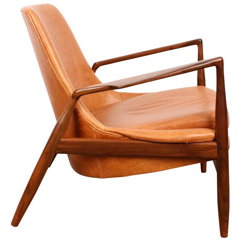 mid century modern ib kofod larsen salen chair