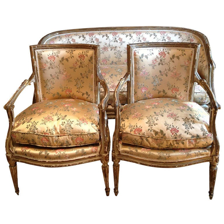 A Fine Suite Of 18 Th Italian Neoclassical Seat Furniture At 1stdibs