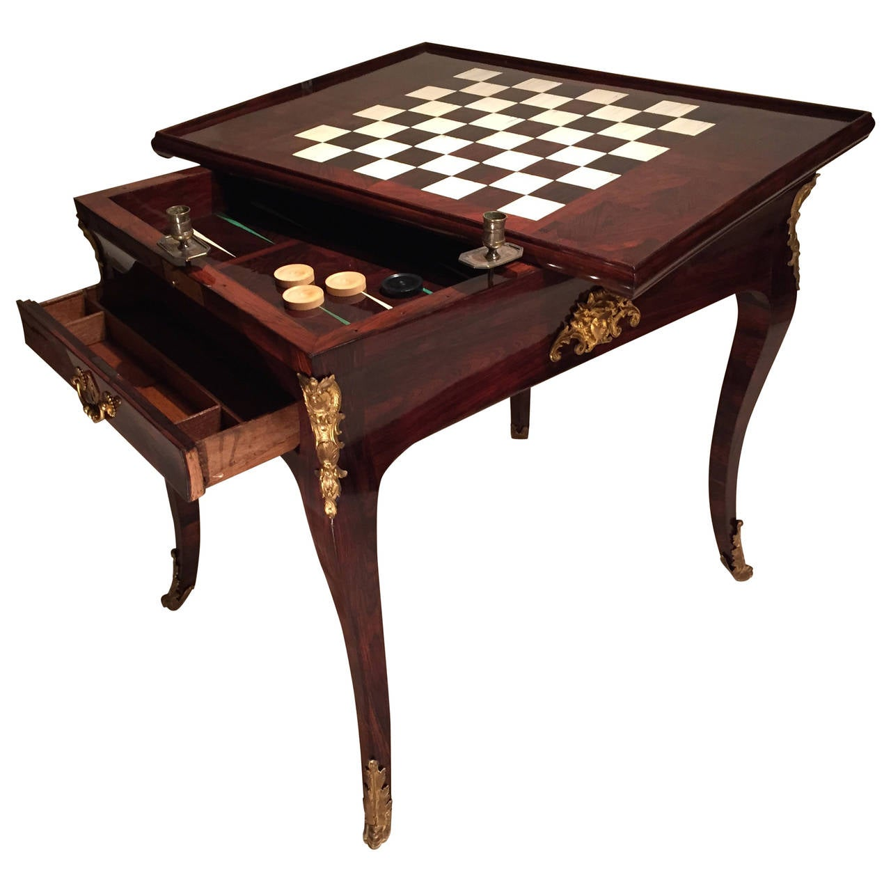 italian walnut games table at 1stdibs bokep ter