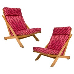 Hans Wegner Oak Chairs