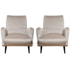 Pair of Mid-Century Italian Carlo di Carli armchairs