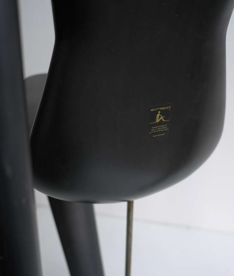 Unique Mannequin Chair,  Switzerland 1970's In Good Condition For Sale In The Hague, NL